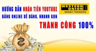 Cách nhận tiền wester union online