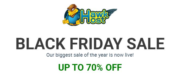 HawkHost giảm giá cực khủng cho ngày Black Friday