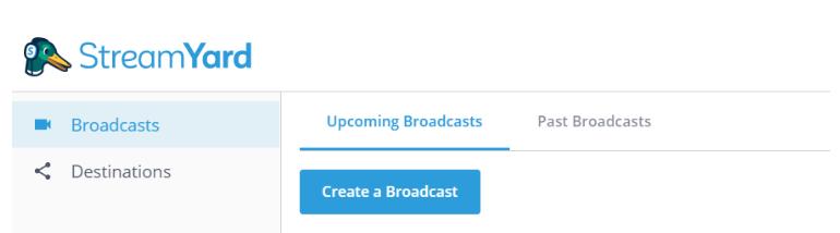 Tạo chương trình phát trực tiếp trên nền tảng bạn muốn livestream